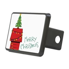 Merry Christmas Hitch Cover