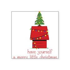 Merry Little Christmas Sticker