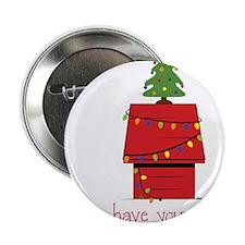 "Merry Little Christmas 2.25"" Button"