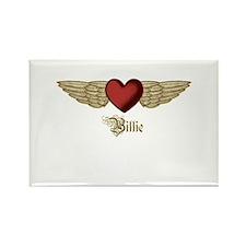 Billie the Angel Rectangle Magnet