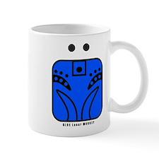 BLUE Lunar MONKEY Mug
