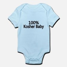 100% Kosher Baby Body Suit