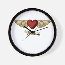 Brittney the Angel Wall Clock
