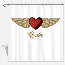 Candy the Angel Shower Curtain