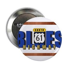 "Blues Highway 61 2.25"" Button"