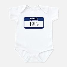Hello: Tillie Infant Bodysuit