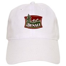 Denali Mountain Scene Baseball Cap