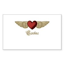 Caroline the Angel Decal