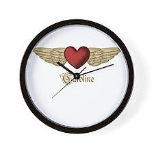 Caroline the Angel Wall Clock