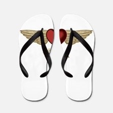 Carolyn the Angel Flip Flops