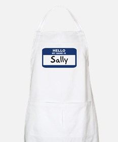 Hello: Sally BBQ Apron