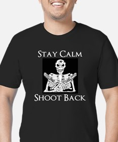 Stay Calm Shoot Back T