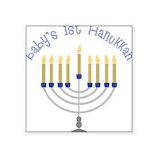Baby's 1st Hanukkah Sticker