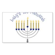 Baby's 1st Hanukkah Decal