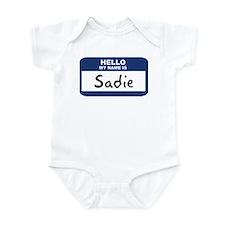 Hello: Sadie Infant Bodysuit