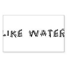 Like Water Decal
