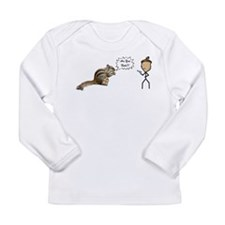 Are You Nuts Squirrel Long Sleeve T-Shirt