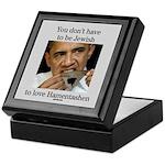 Funny Purim Obama Keepsake Box