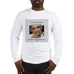 Funny Purim Obama Long Sleeve T-Shirt