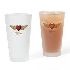 Christa the Angel Drinking Glass