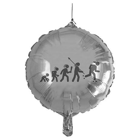 Roller Skating Mylar Balloon