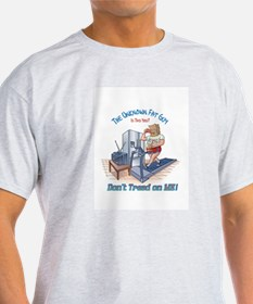 The Unknown Fat Guy - Don't tread on Me ! T-Shirt