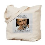 Funny Purim Obama Tote Bag
