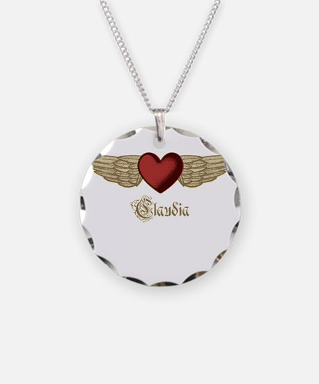 Claudia the Angel Necklace