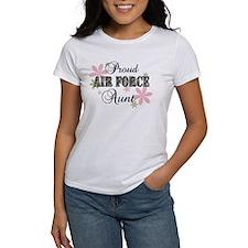 Air Force Aunt [fl camo] Tee