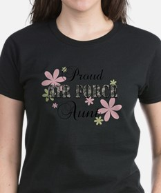 Air Force Aunt [fl camo] Tee
