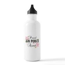 Air Force Aunt [fl camo] Water Bottle
