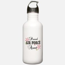 Air Force Aunt [fl camo] Water Bottle