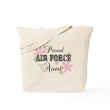 Air Force Aunt [fl camo] Tote Bag