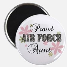 Air Force Aunt [fl camo] Magnet