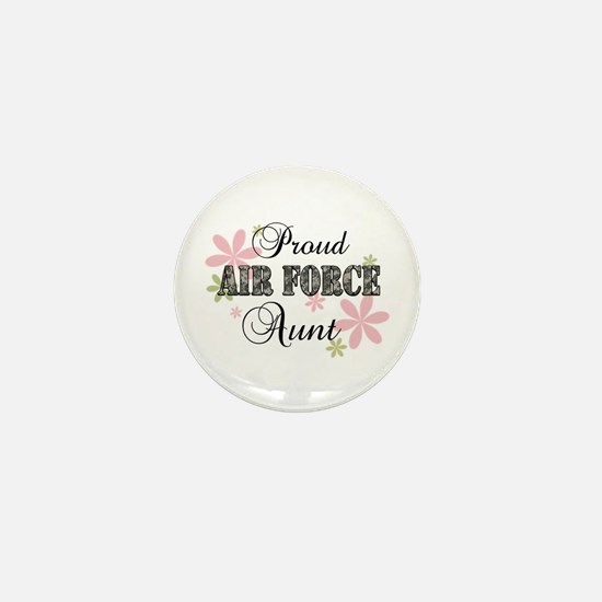 Air Force Aunt [fl camo] Mini Button