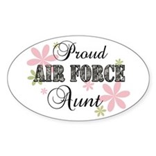 Air Force Aunt [fl camo] Decal