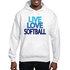 Cute College softball Hoodie