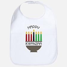 Happy Kwanzaa Bib