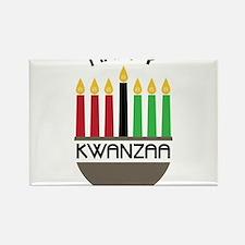 Happy Kwanzaa Rectangle Magnet