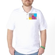 Pop Art Cross Religious T-Shirt