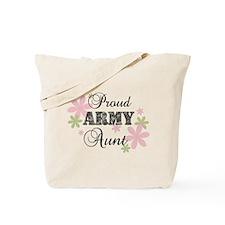 Army Aunt [fl camo] Tote Bag