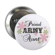 "Army Aunt [fl camo] 2.25"" Button"