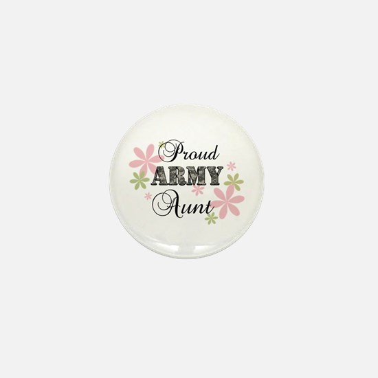 Army Aunt [fl camo] Mini Button
