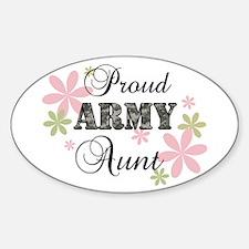Army Aunt [fl camo] Decal