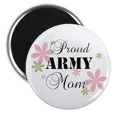 Army Mom [fl camo] Magnet