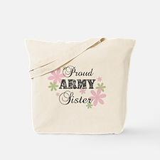 Army Sister [fl camo] Tote Bag