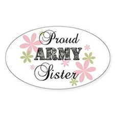 Army Sister [fl camo] Decal
