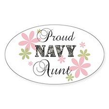 Navy Aunt [fl camo] Decal