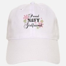 Navy Girlfriend [fl camo] Baseball Baseball Cap