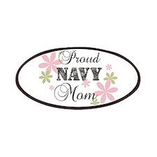 Navy Mom [fl camo] Patches